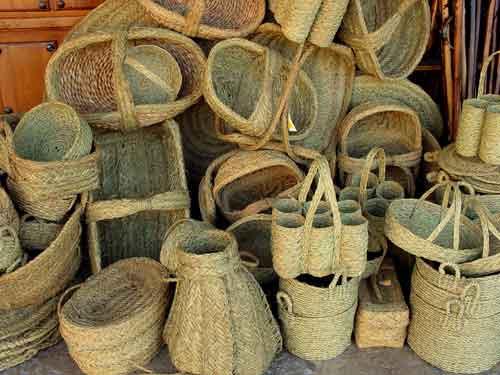 Artesan a cester a y fibras vegetales madridejos for Artesanias de espana