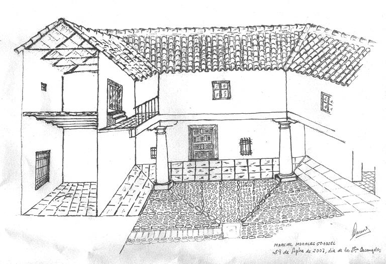 Arquitectura popular casa urbana madridejos toledo for Informacion sobre la arquitectura
